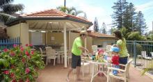 1 of 2 BBQ cabanas